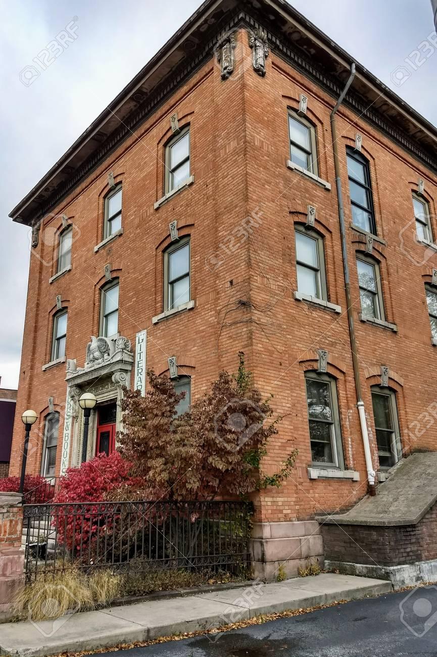 Editorial - November 16, 2017 - Rochester, NY - Historic building Stock Photo - 90125397