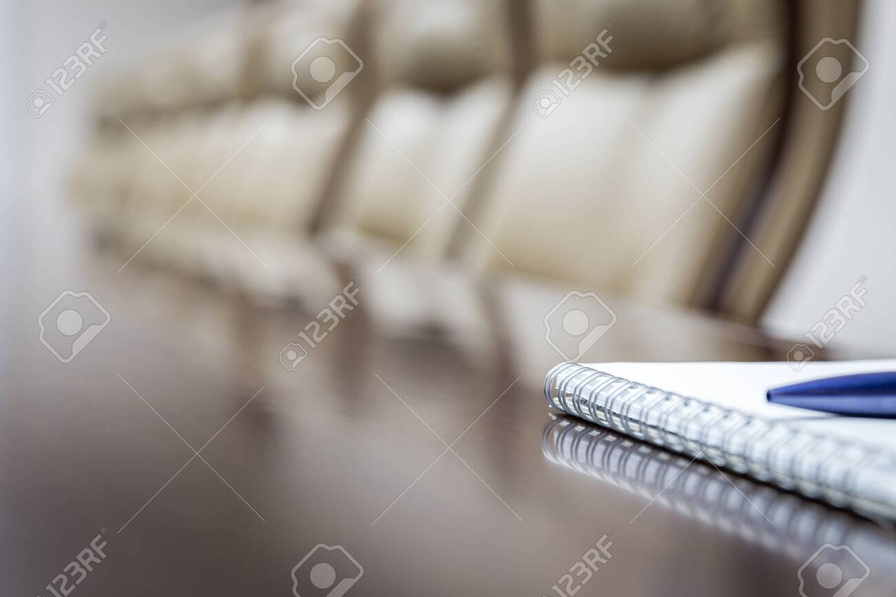 Business concept with paper agenda and pen. vintage tone - 129062687