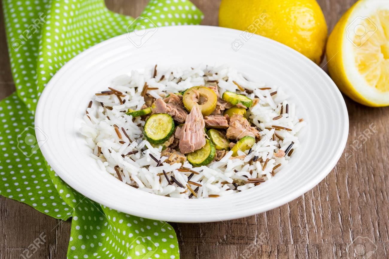 Arroz blanco con atun dieta