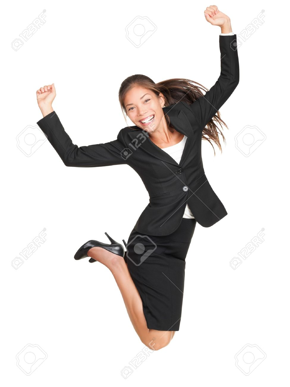 jumping business w celebrating successful businessw jumping business w celebrating successful businessw in suit jumping joyful isolated on white background in