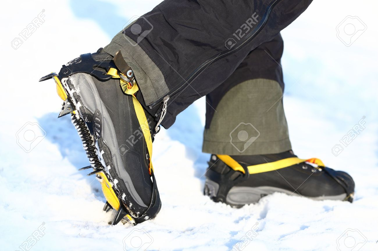 Walking shoes for the snow