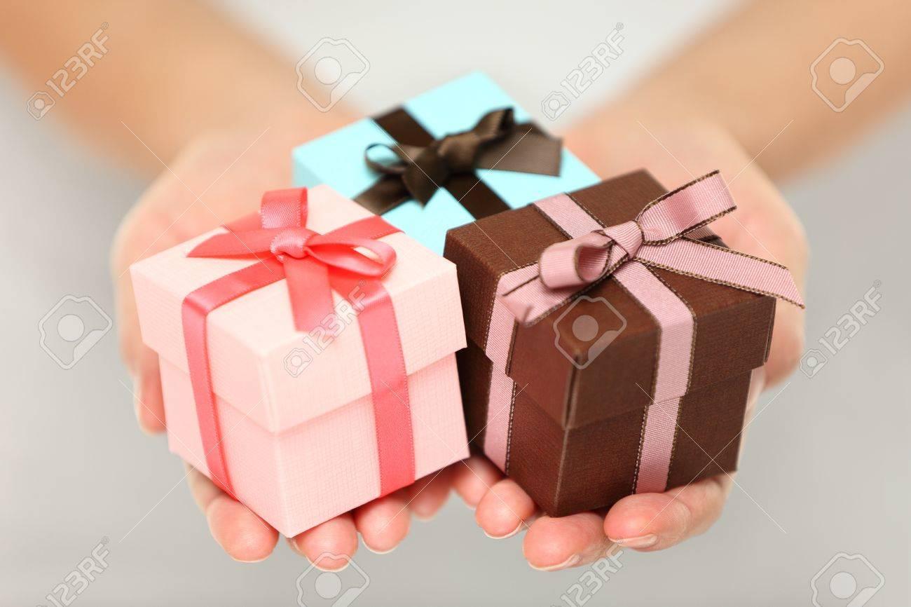Andere Weihnachtsgeschenke.Stock Photo