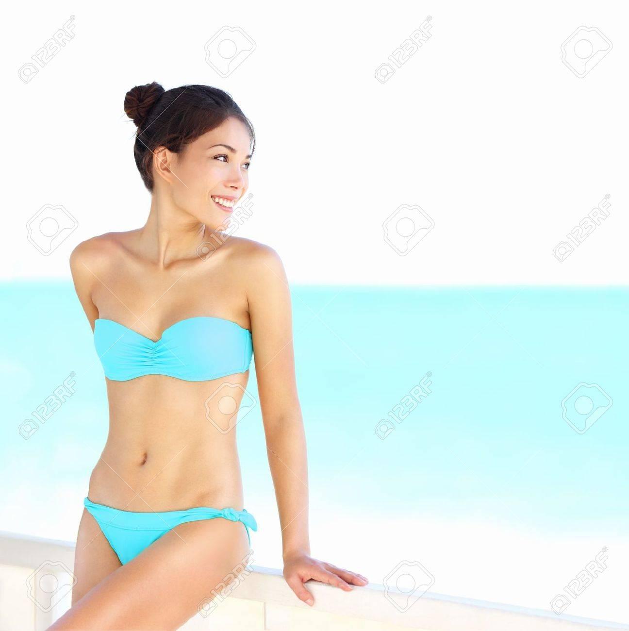 Beach bikini woman beauty on summer holidays vacation Stock Photo - 17566644