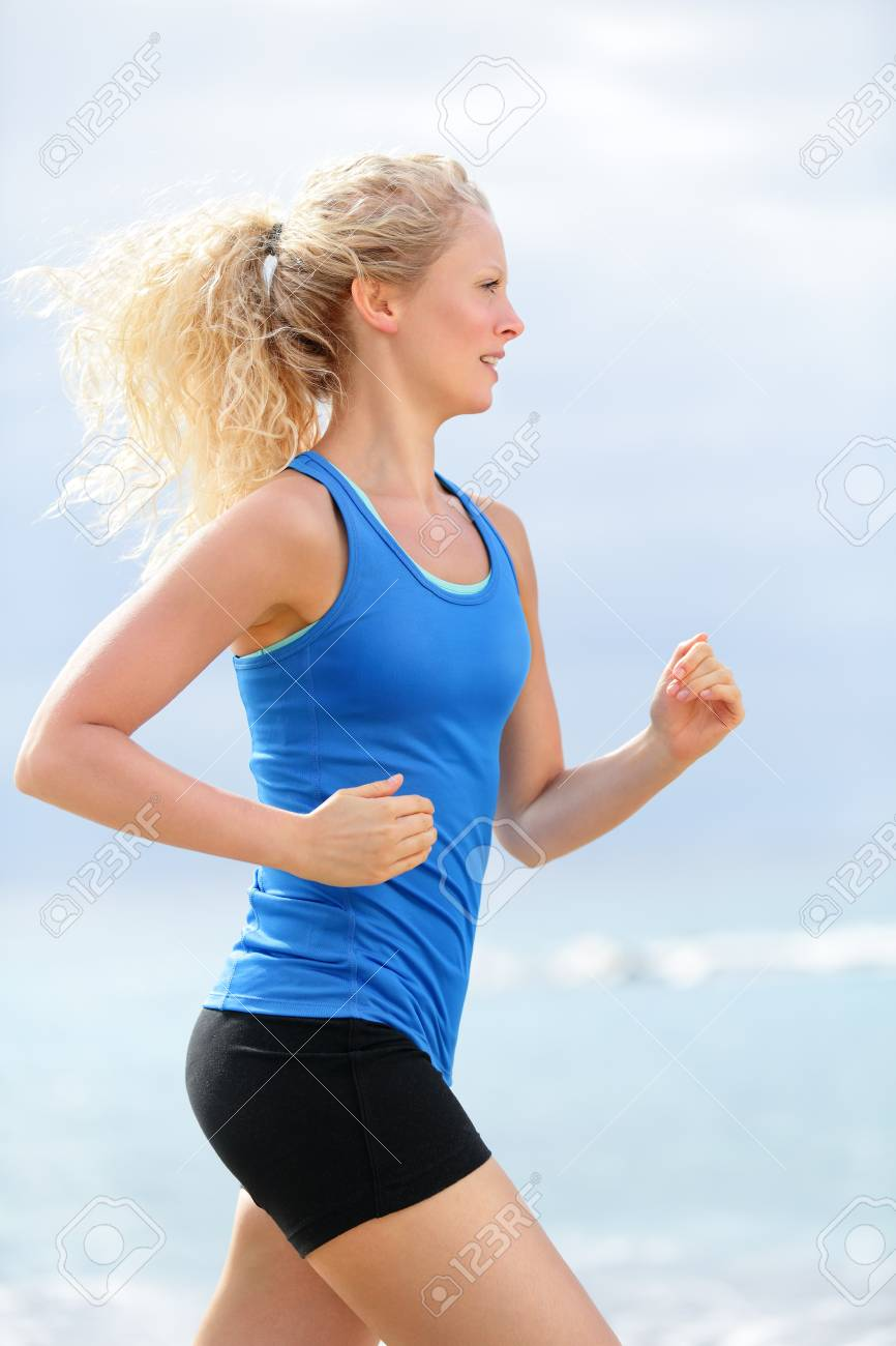 Woman Runner Female Running Woman Healthy Lifestyle Girl Jogging Stock Photo Picture And Royalty Free Image Image 27431414 Fit athlete woman runner in sportswear relaxing after training with smartphone. https www 123rf com photo 27431414 woman runner female running woman healthy lifestyle girl jogging training outdoors on beach happy fi html