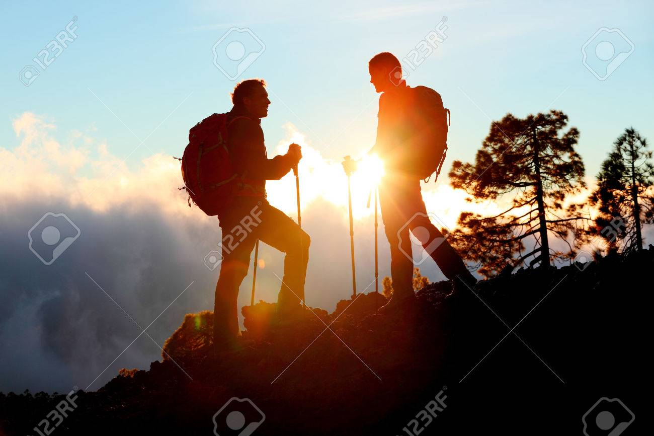 Night Hike Stock Photos Pictures Royalty Free Night Hike Images - This man hikes up the transylvanian mountains every morning to photograph sunrise