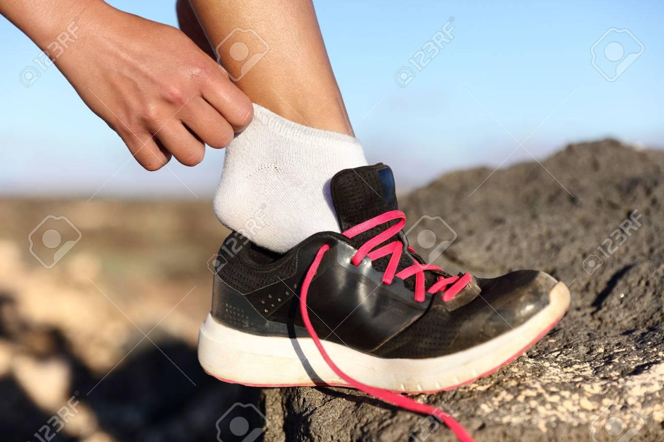 De En Forme Remise Runner Et Mettre Chaussures Des qqxgtrf