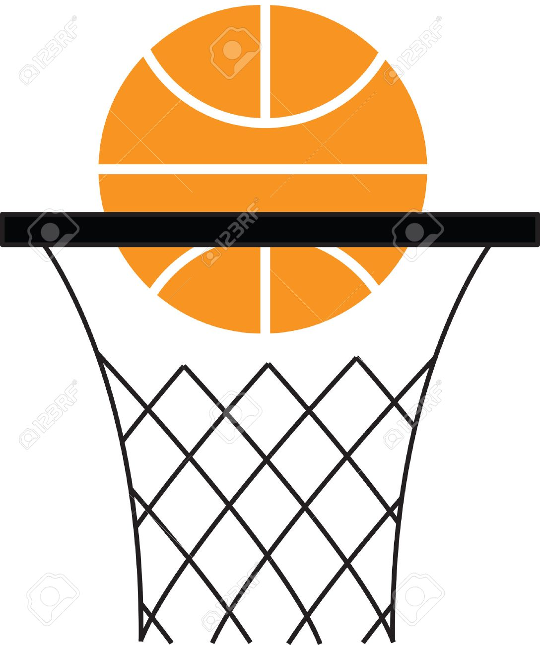 Basketball Net Logo basketball hoop  a basketball