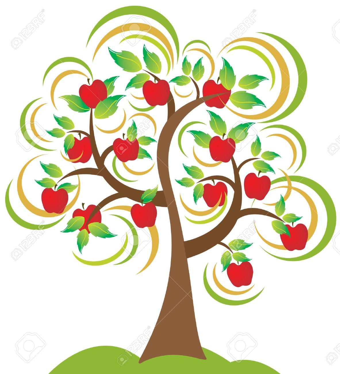Apple Tree a Beautiful Apple
