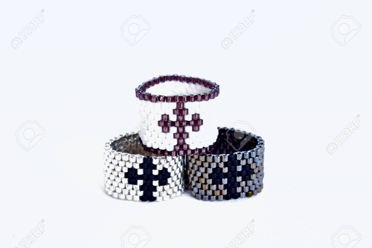 rings harpley beaded edward assorted