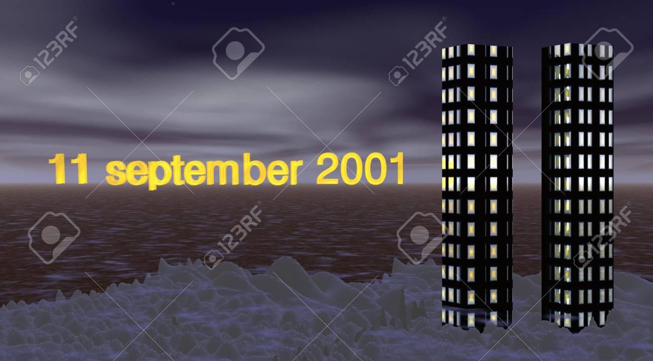 11 september 2001 Stock Photo - 5520166