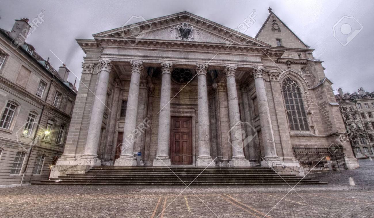 St-Pierre Cathedral in Geneva, Switzerland - 25471727