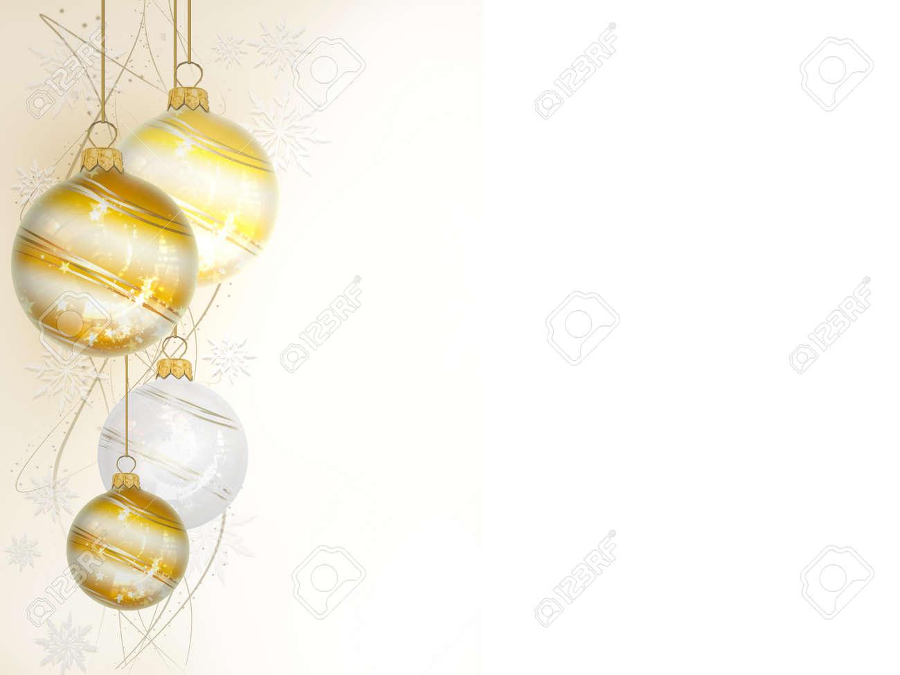 christmas ball on white background - 3d rendering - 158900337