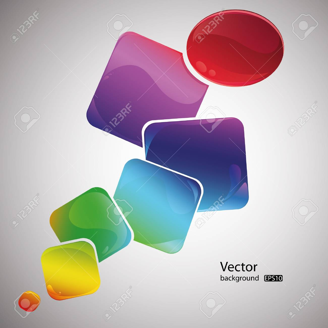 Abstract colorful vector background. EPS10 Stock Vector - 9849167