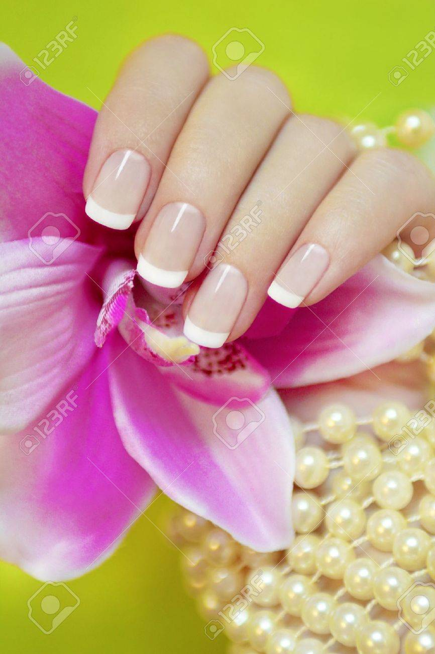 History of the french manicure