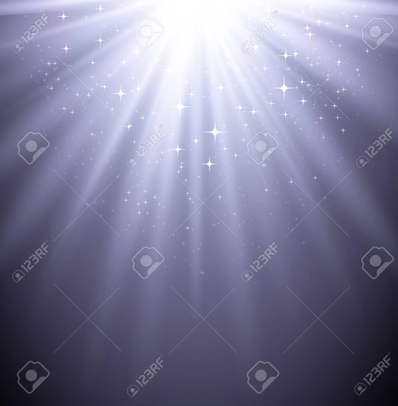 Magic light background Stock Vector - 18607958