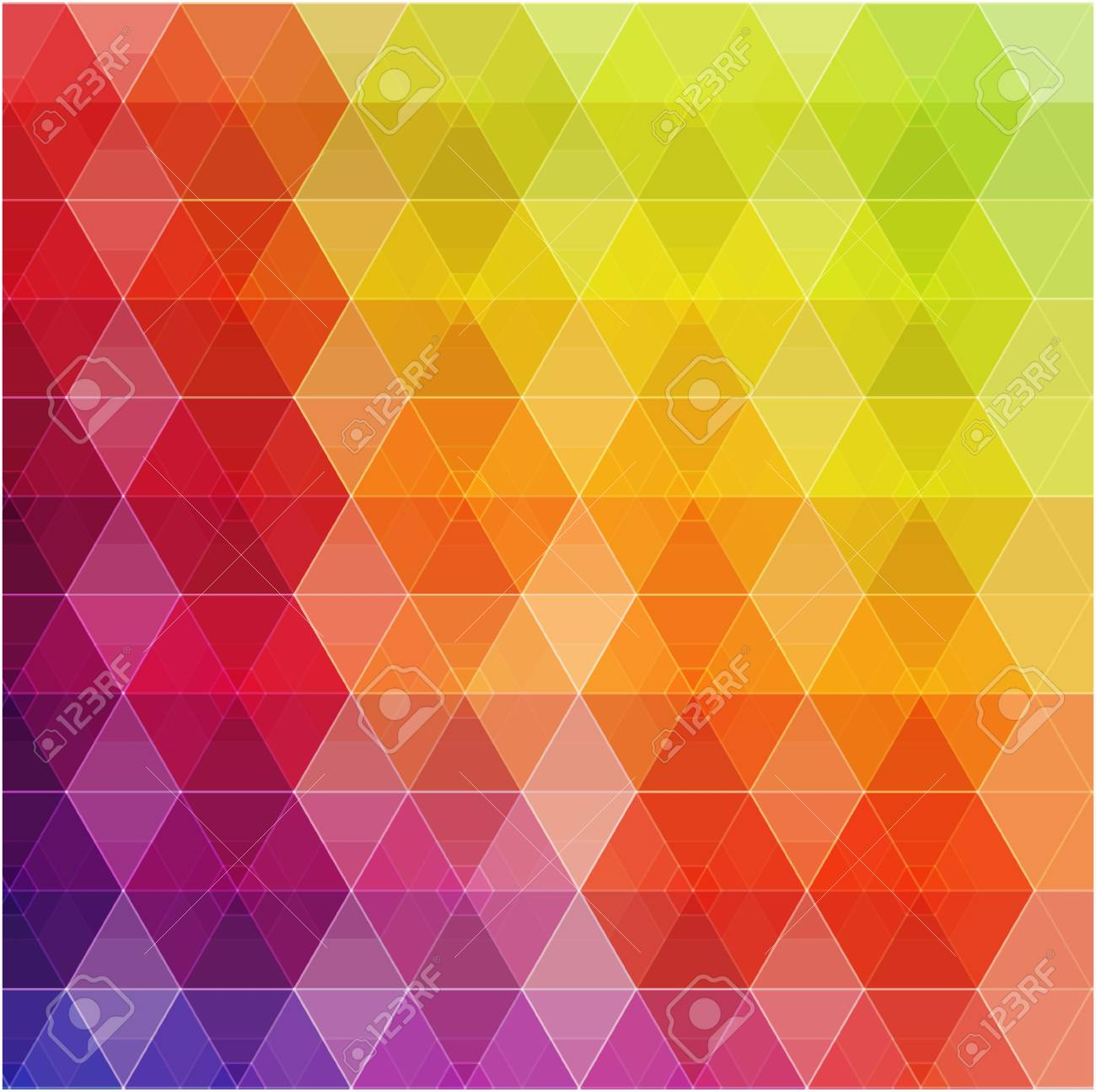 Retro pattern of geometric shapes  Colorful mosaic banner Stock Vector - 21222359