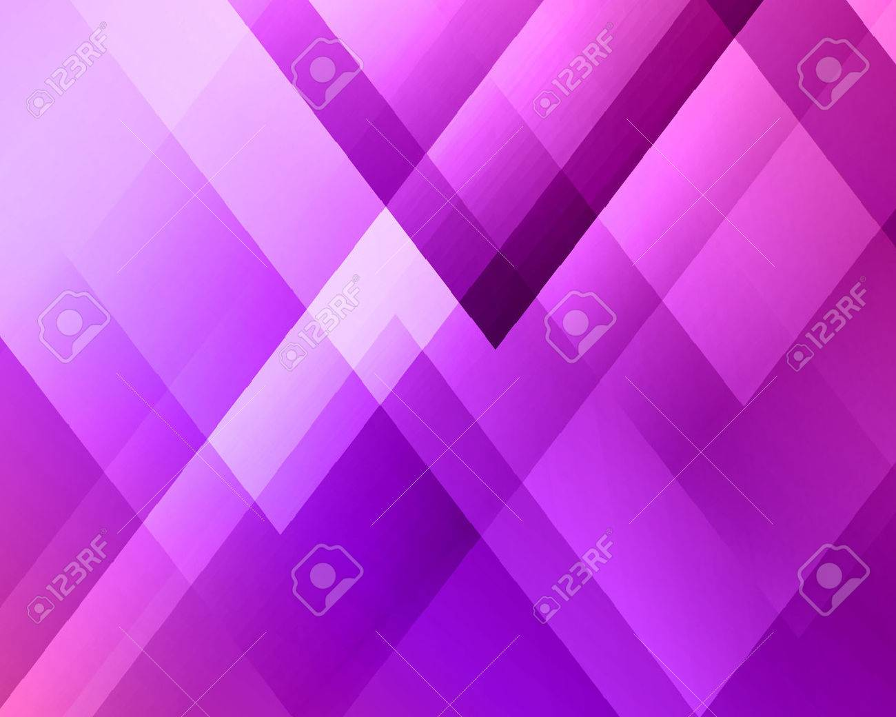 Abstract light background. Purple triangle pattern. Purple triangular background - 56196919