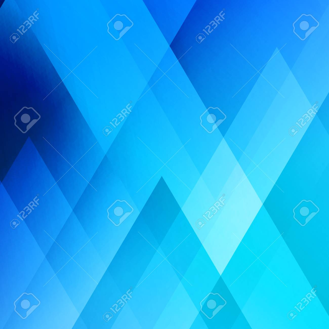 Abstract Light Background Blue Triangle Pattern Blue Triangular