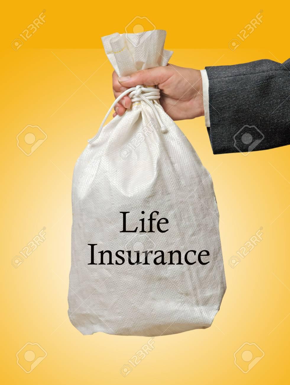 Giving life insurance Stock Photo - 6819409