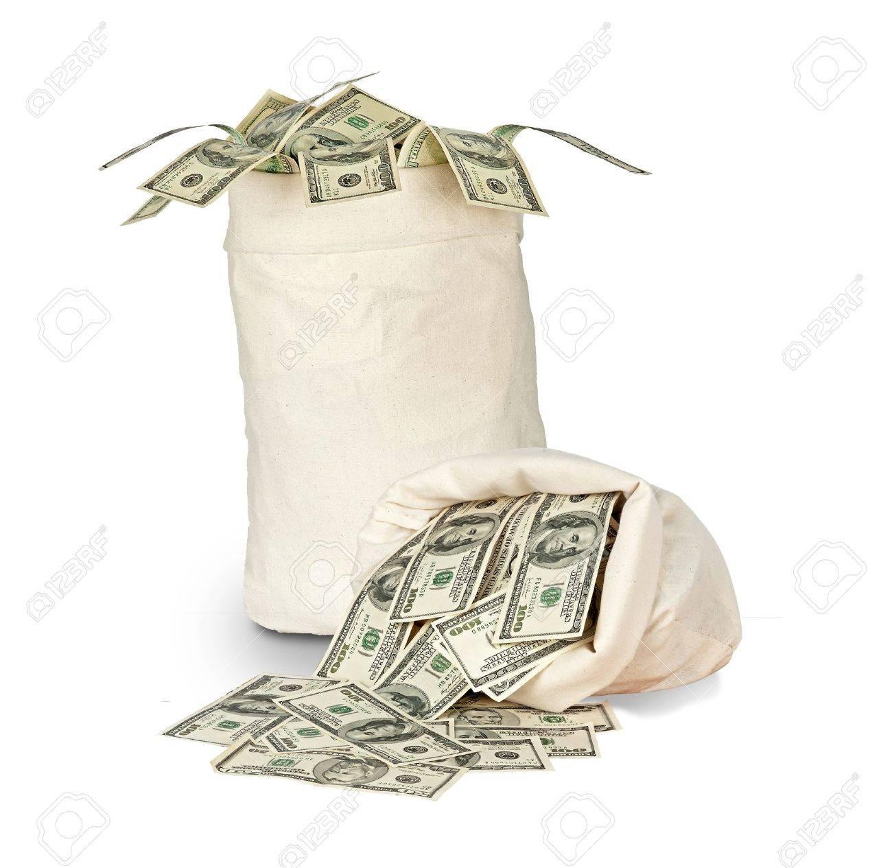 Money bags Stock Photo - 9115257
