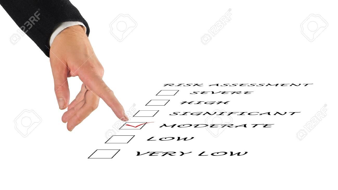 Risk assessment checkbox Stock Photo - 11404619