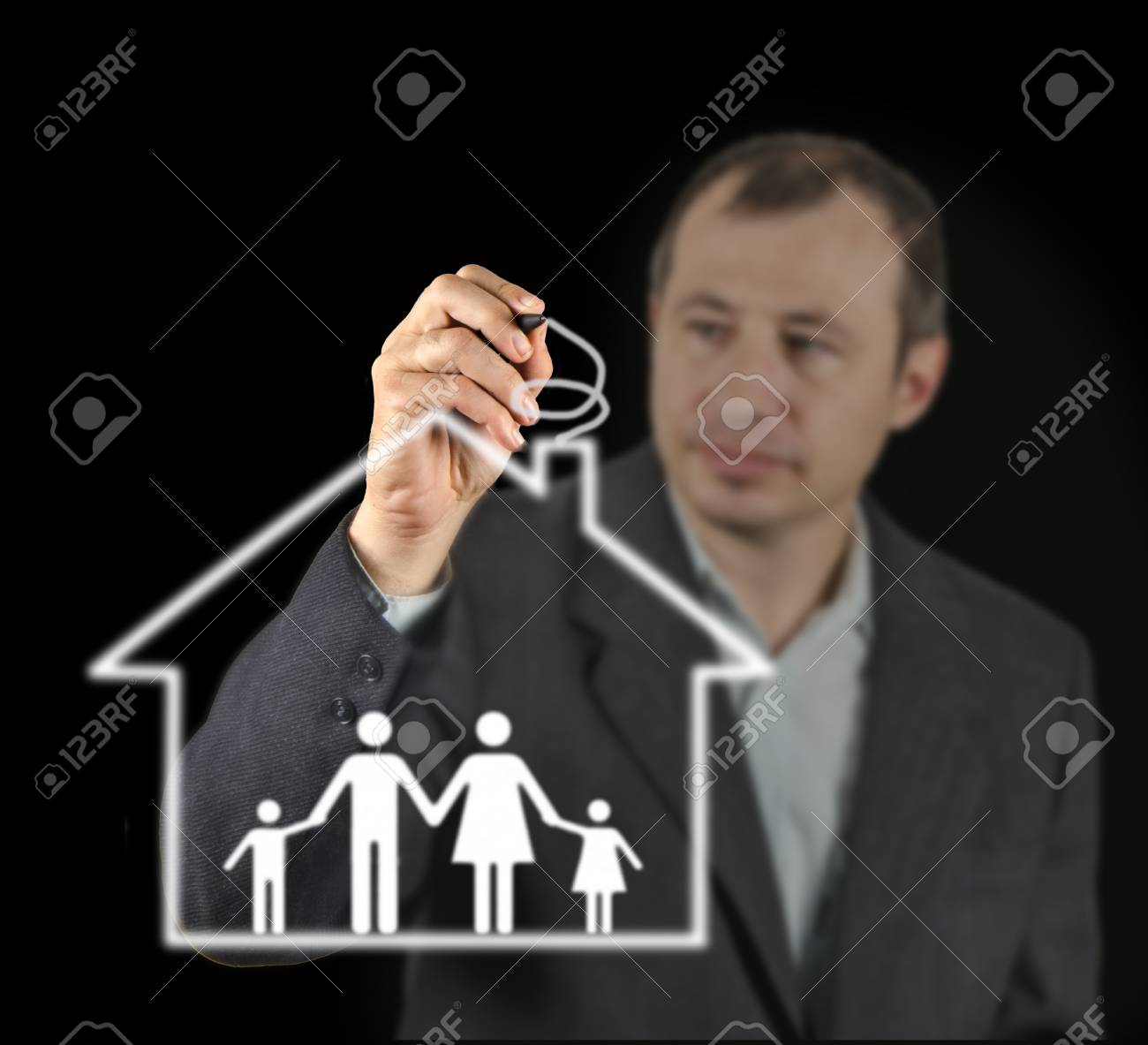 Gift of house Stock Photo - 28160147