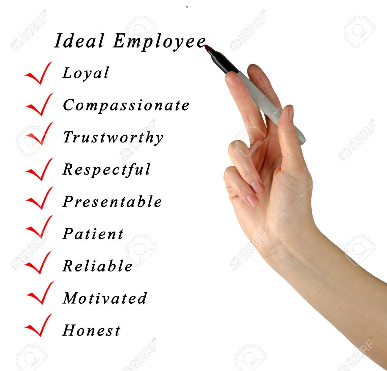 ideal employee stock photo picture and royalty image image ideal employee stock photo 31164339