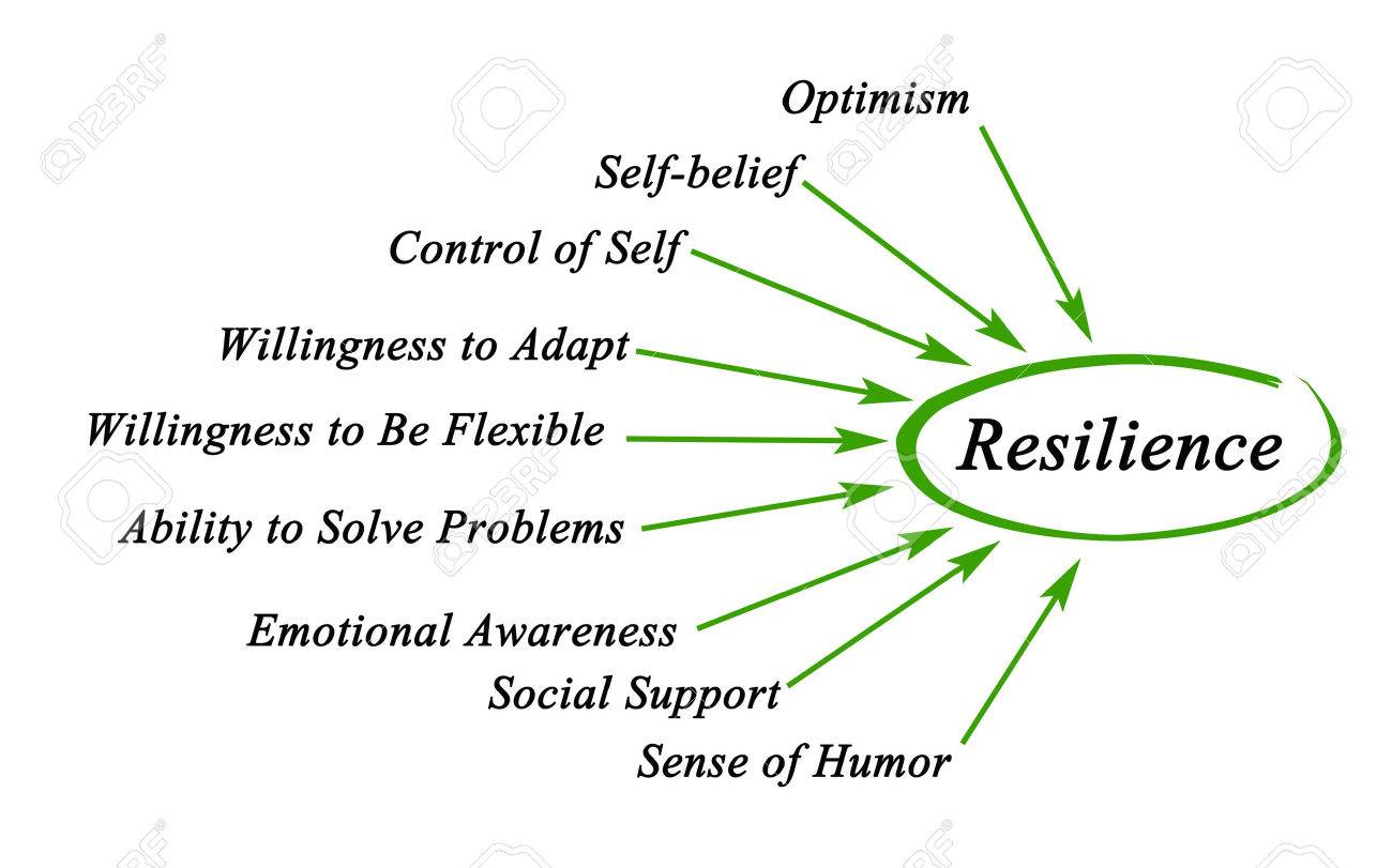Diagram of Resilience Stock Photo - 40761315