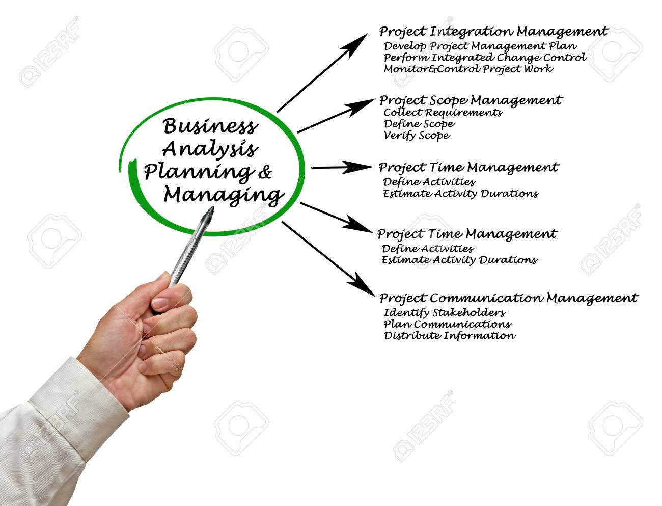 Business analysis planning