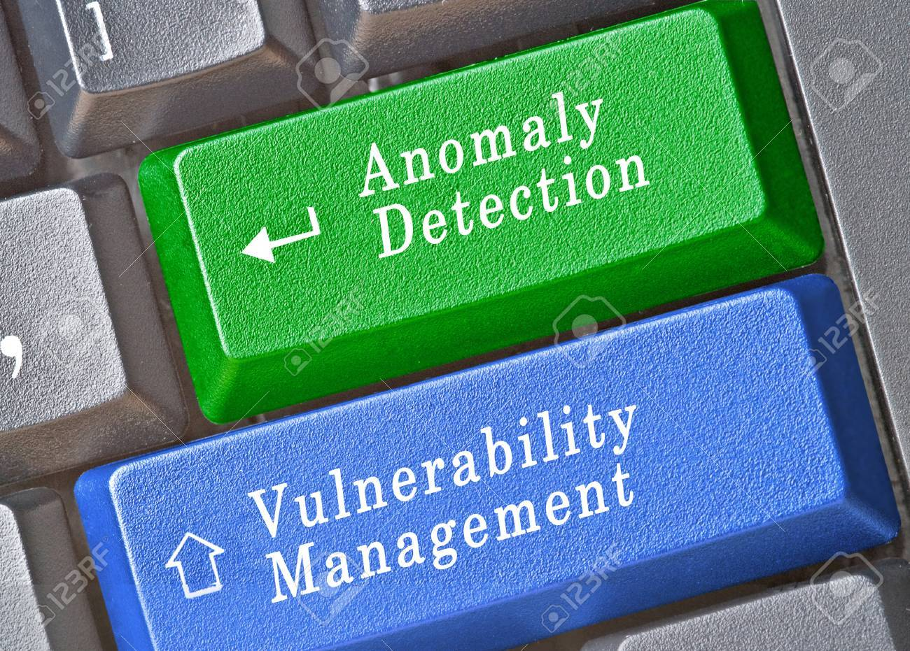 hot keys for Anomaly Detection and vulnerability management