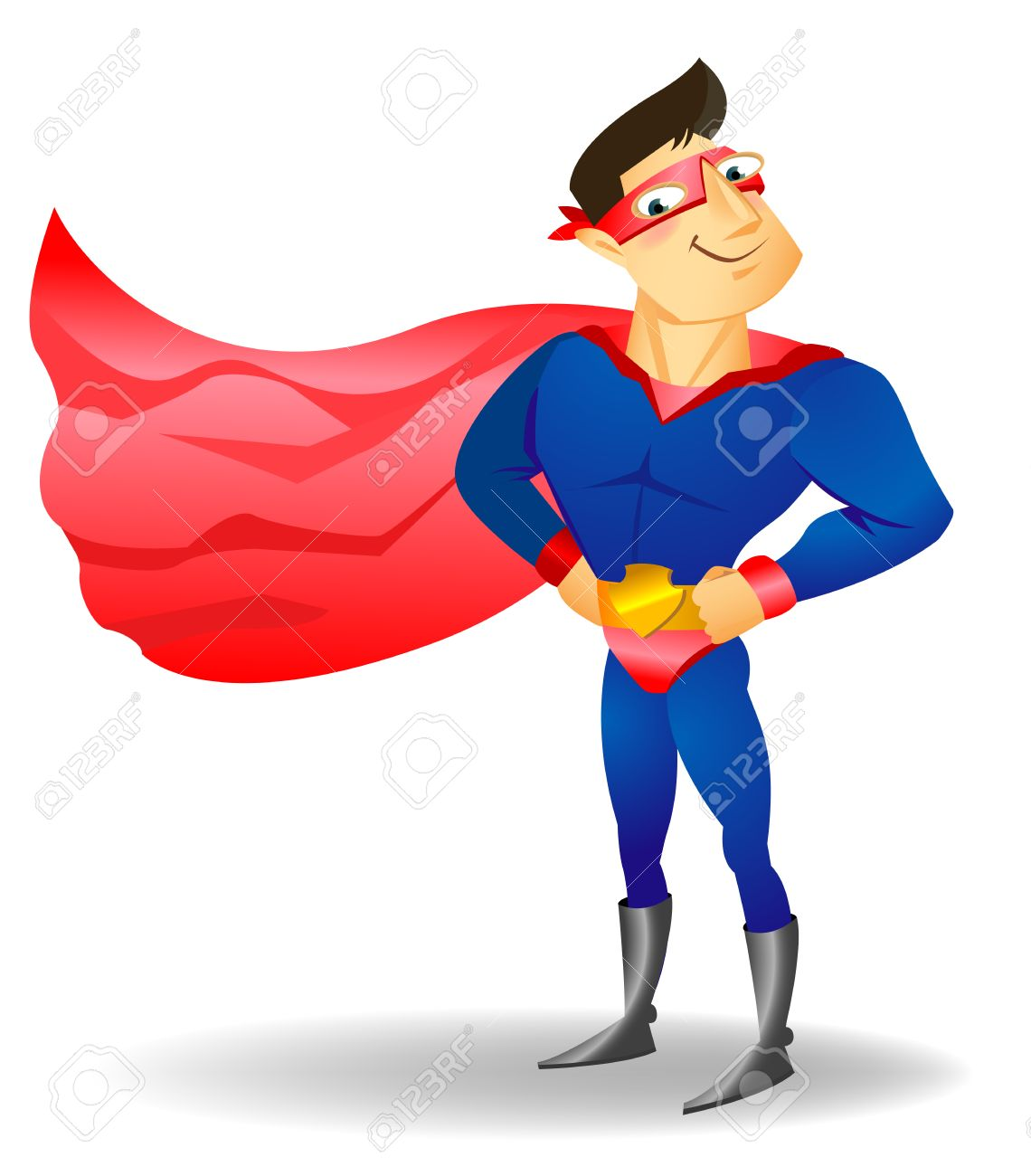 super hero vector illustration on a background royalty free cliparts rh 123rf com super hero vector superhero vector free