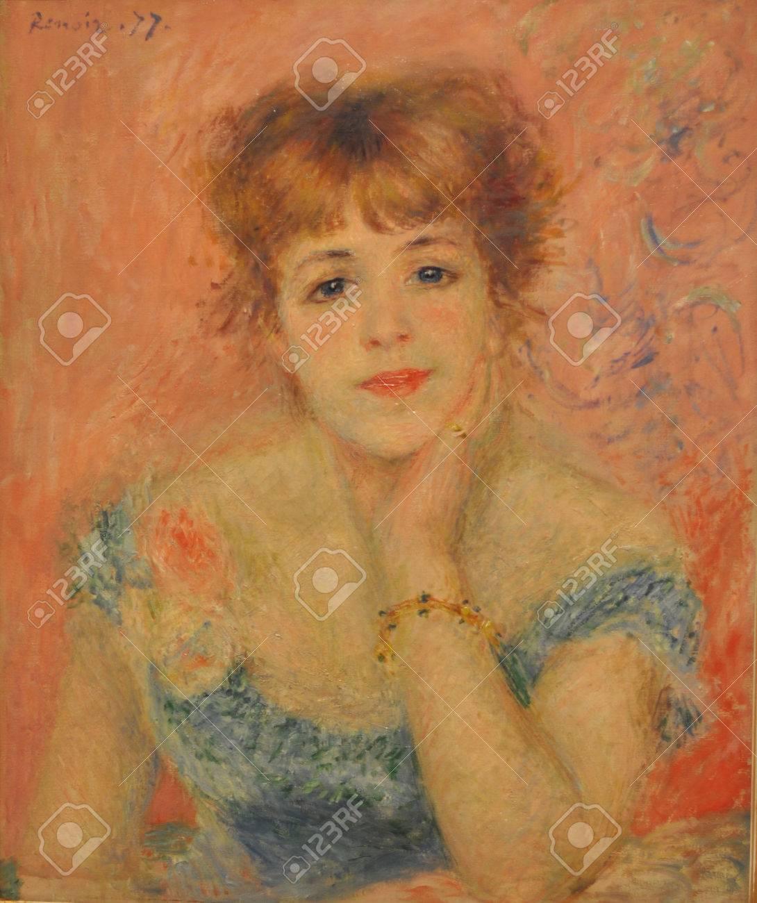 オーギュスト ・ ルノワール (1841年-1919) - ジャンヌ ・ サマリー ...