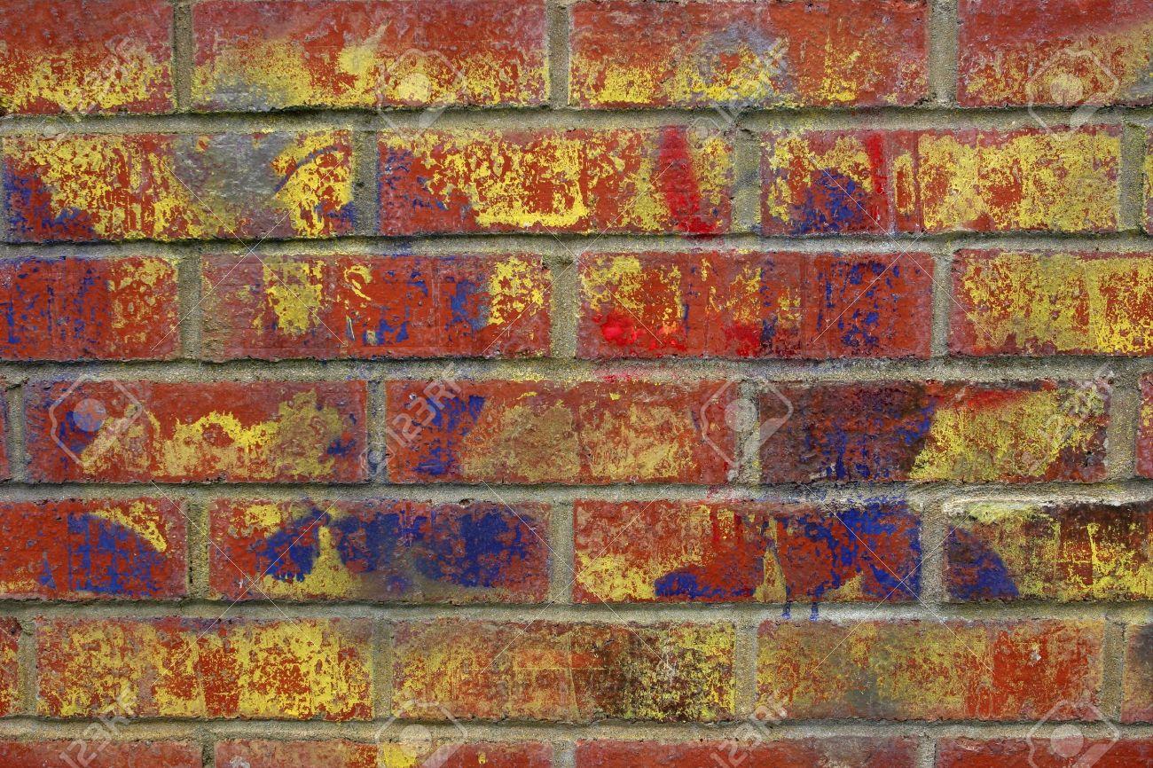 Grafiti wall red - Graffiti Wall Brick