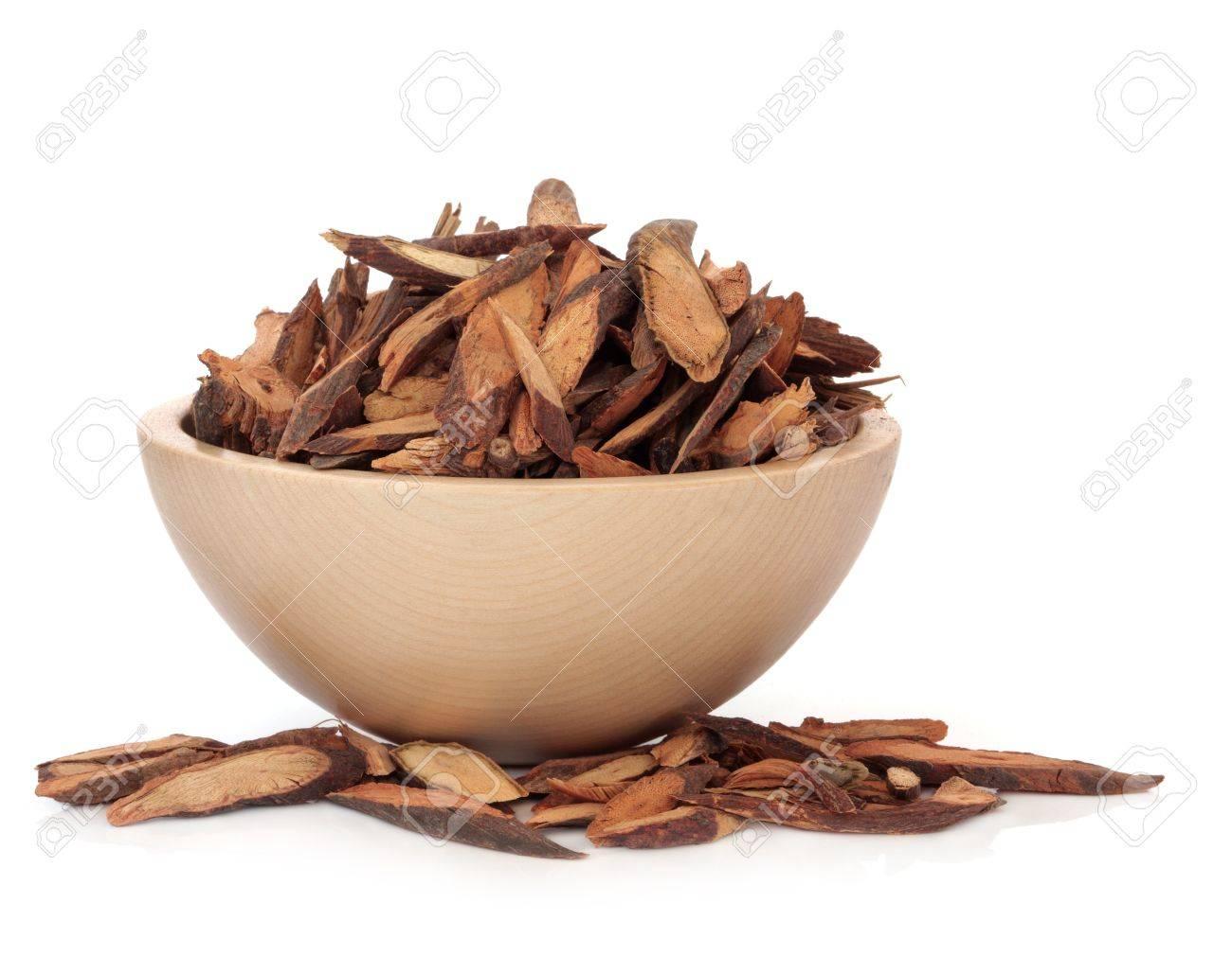 Fleece Flower Stem Herb Used In Traditional Chinese Herbal Medicine