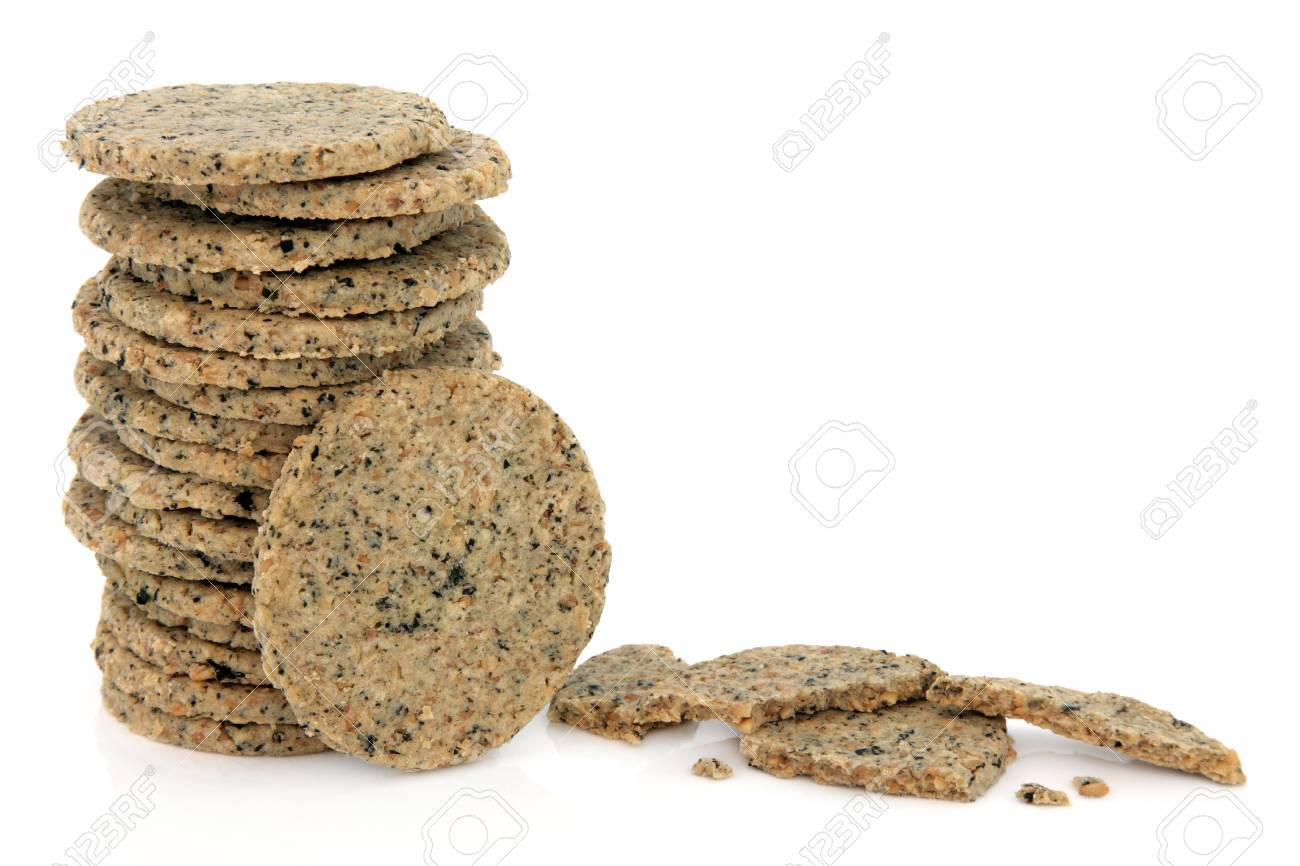 Laverbread oatcakes over white background  Welsh specialty Stock Photo - 17420711