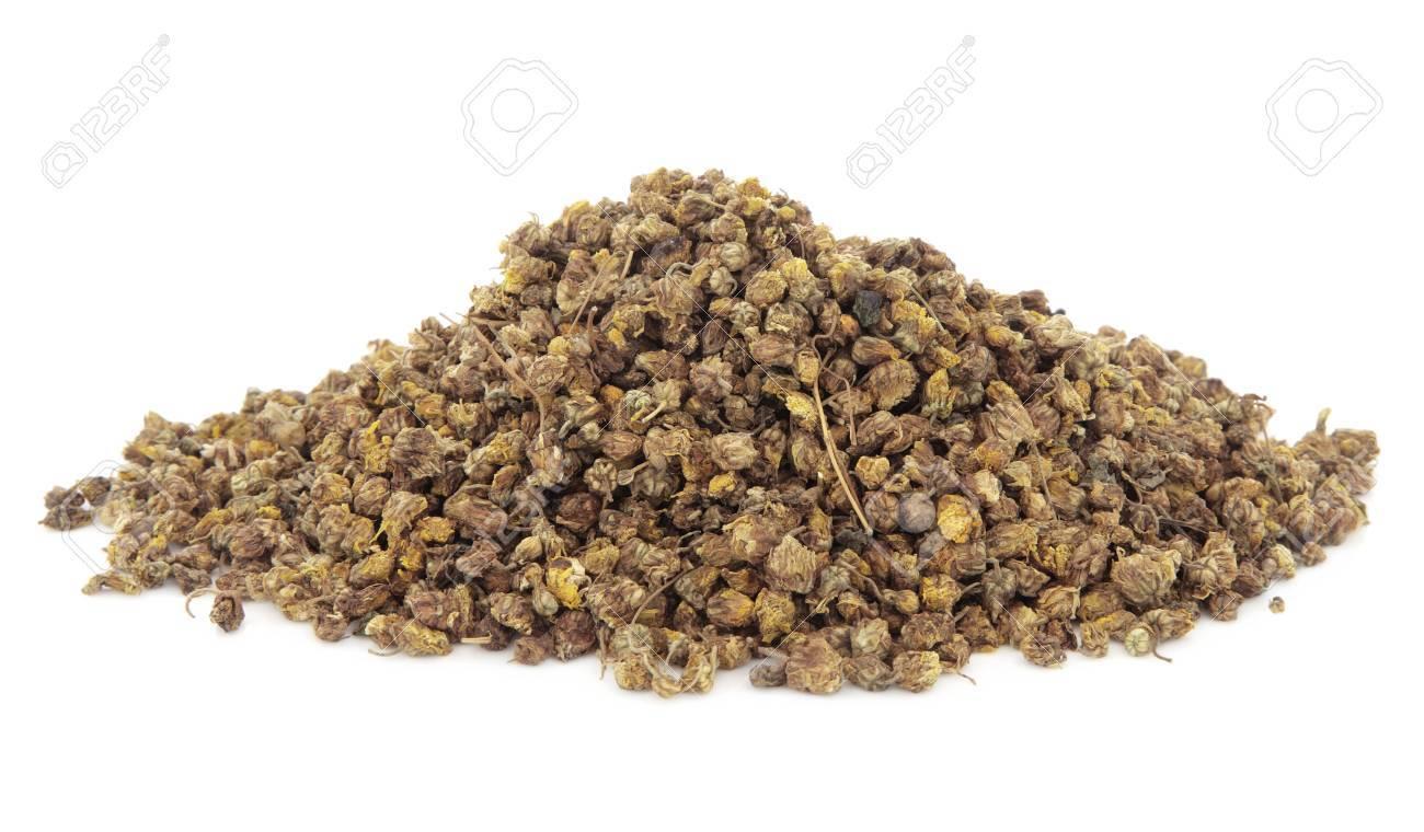 Dried Wild Chrysanthemum Flowers Used In Chinese Herbal Medicine