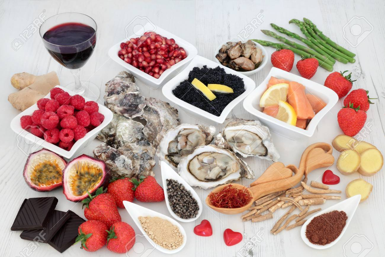 aphrodisiac foods and drinks