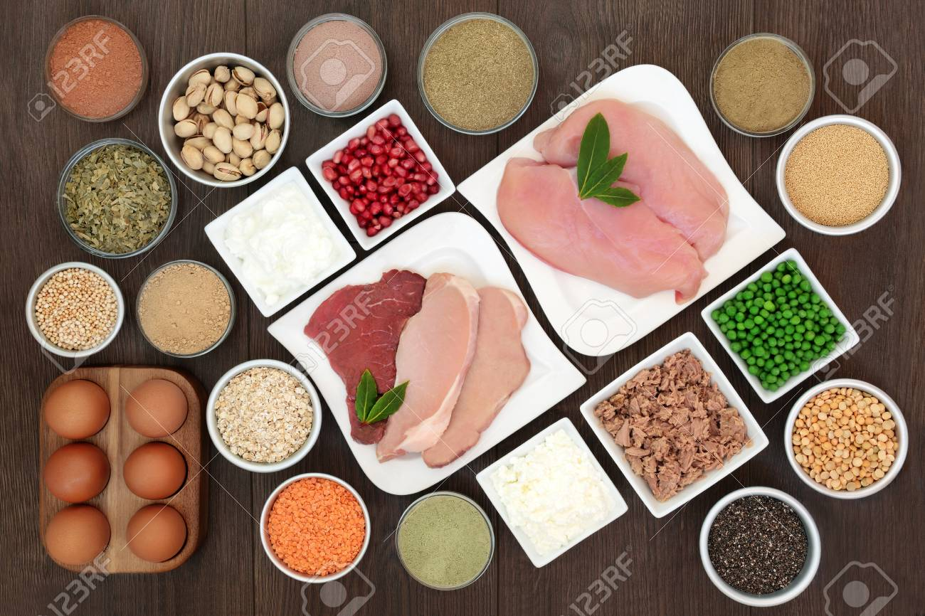 Body Building Health Food With High Protein Lean Chicken Steak Stock Photo Picture And Royalty Free Image Image 110761346