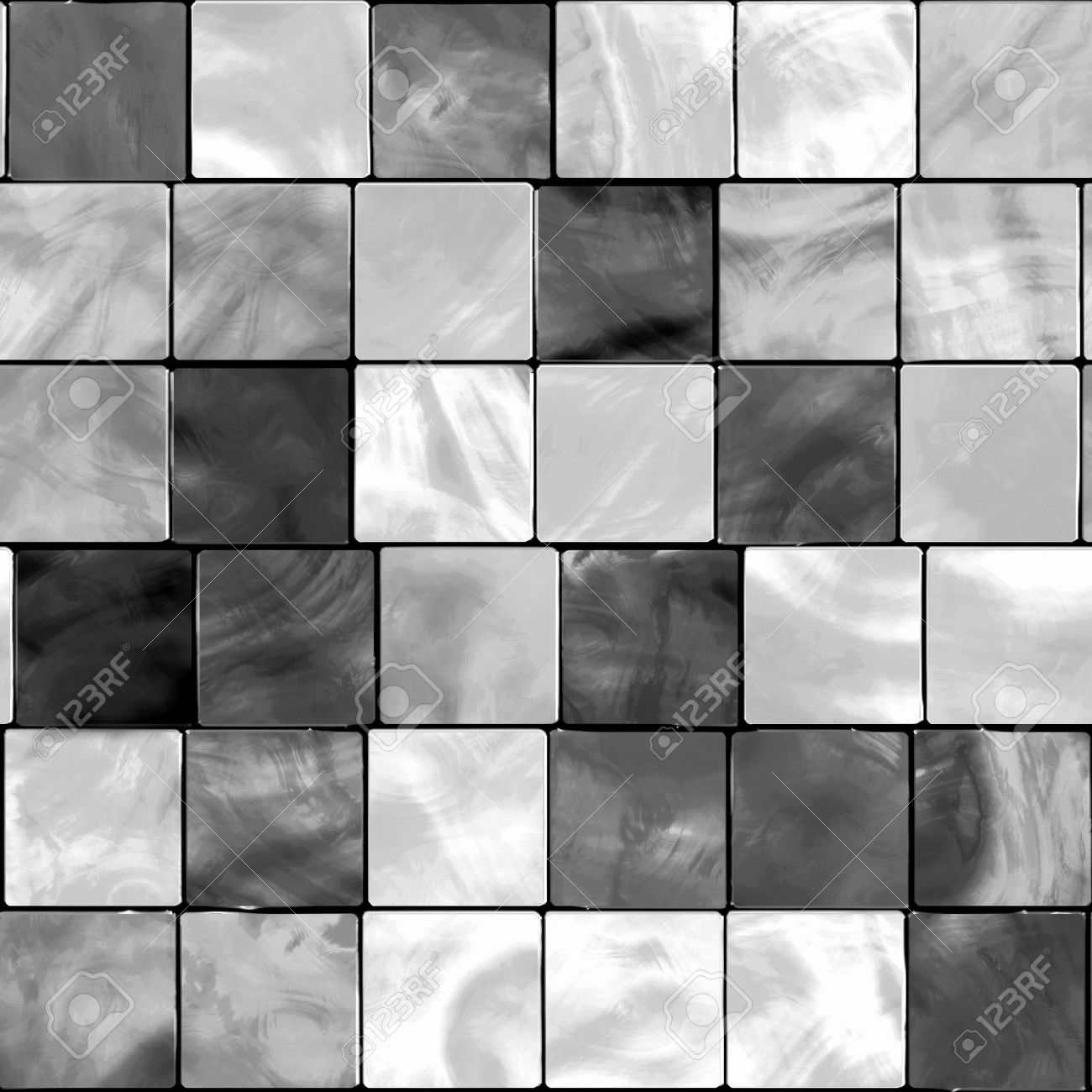 black and white tile floor texture. Seamless White And Gray Tone Tiles Stock Photo  5521649 Picture