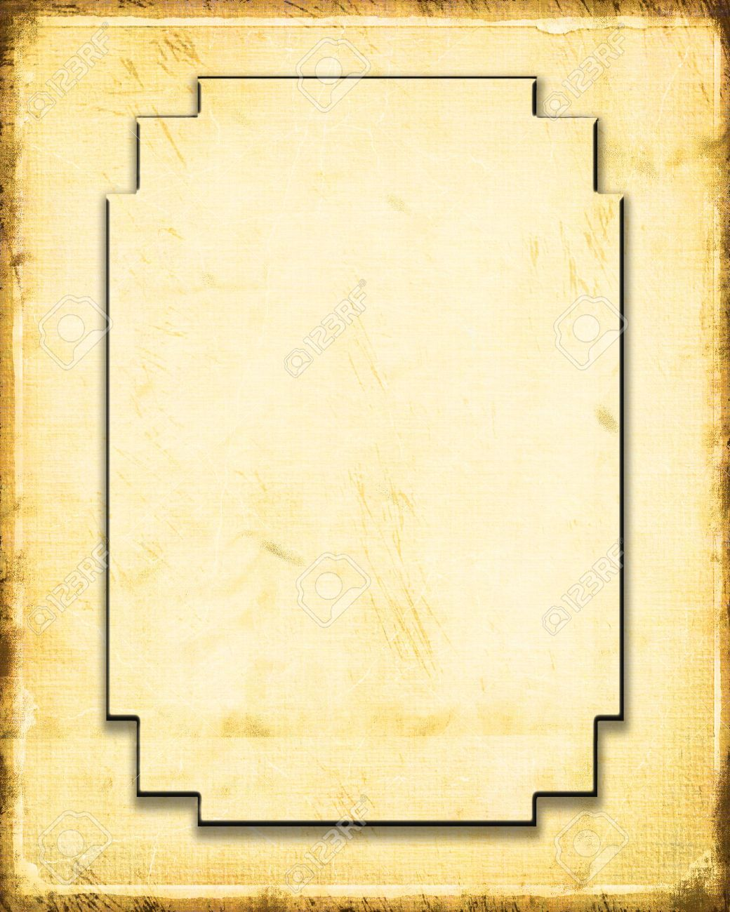 Decorative Paper Frame Stock Photo, Picture And Royalty Free Image ...