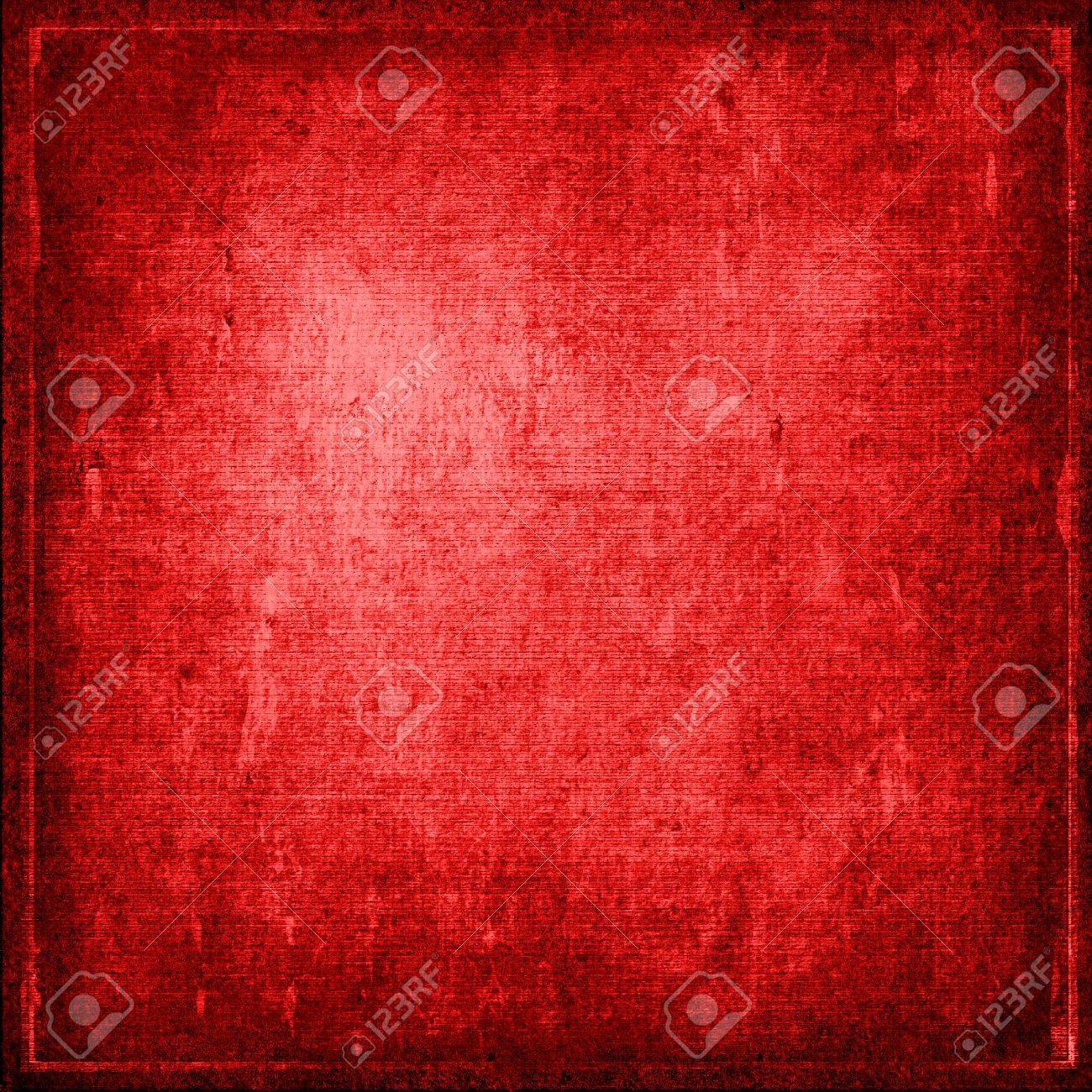 Grunge Paint Red Texture Background Stock Photo - 6685213