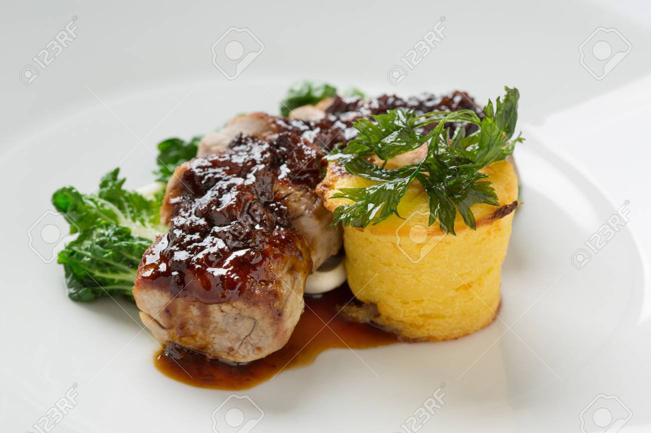 meat and puree Stock Photo - 18226227