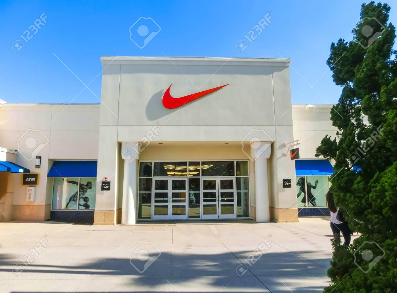 481ff4ed7c Stock Photo - Tampa, USA - May 10, 2018: NIKE shop at shopping mall Tampa  premium outlet at Tampa, USA on May 10, 2018