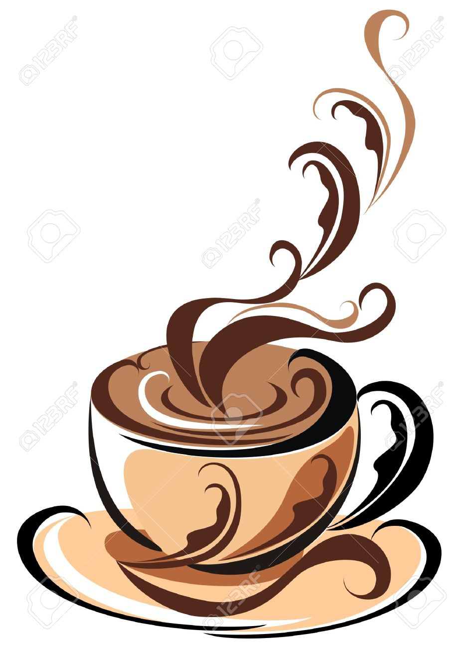 Aroma Coffee cup Stock Vector - 16561228