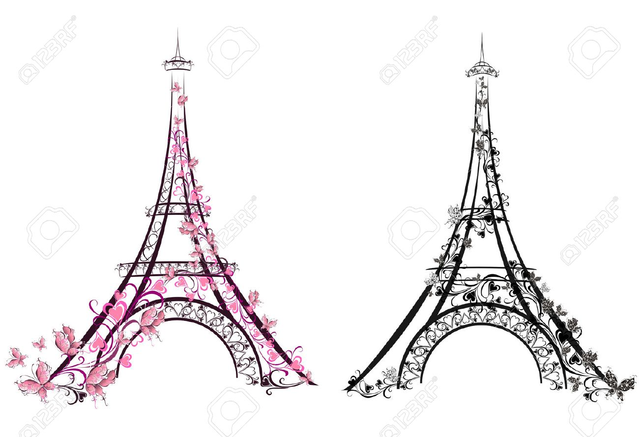 Eiffel tower paris france vector illustration royalty free eiffel tower paris france vector illustration stock vector 23517360 thecheapjerseys Gallery