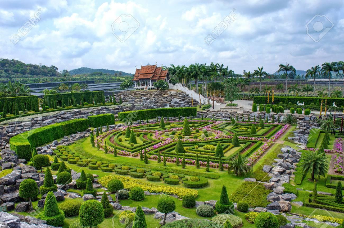 Nong Nooch Tropical Botanical Garden, Pattaya, Thailand Stock Photo - 28318548