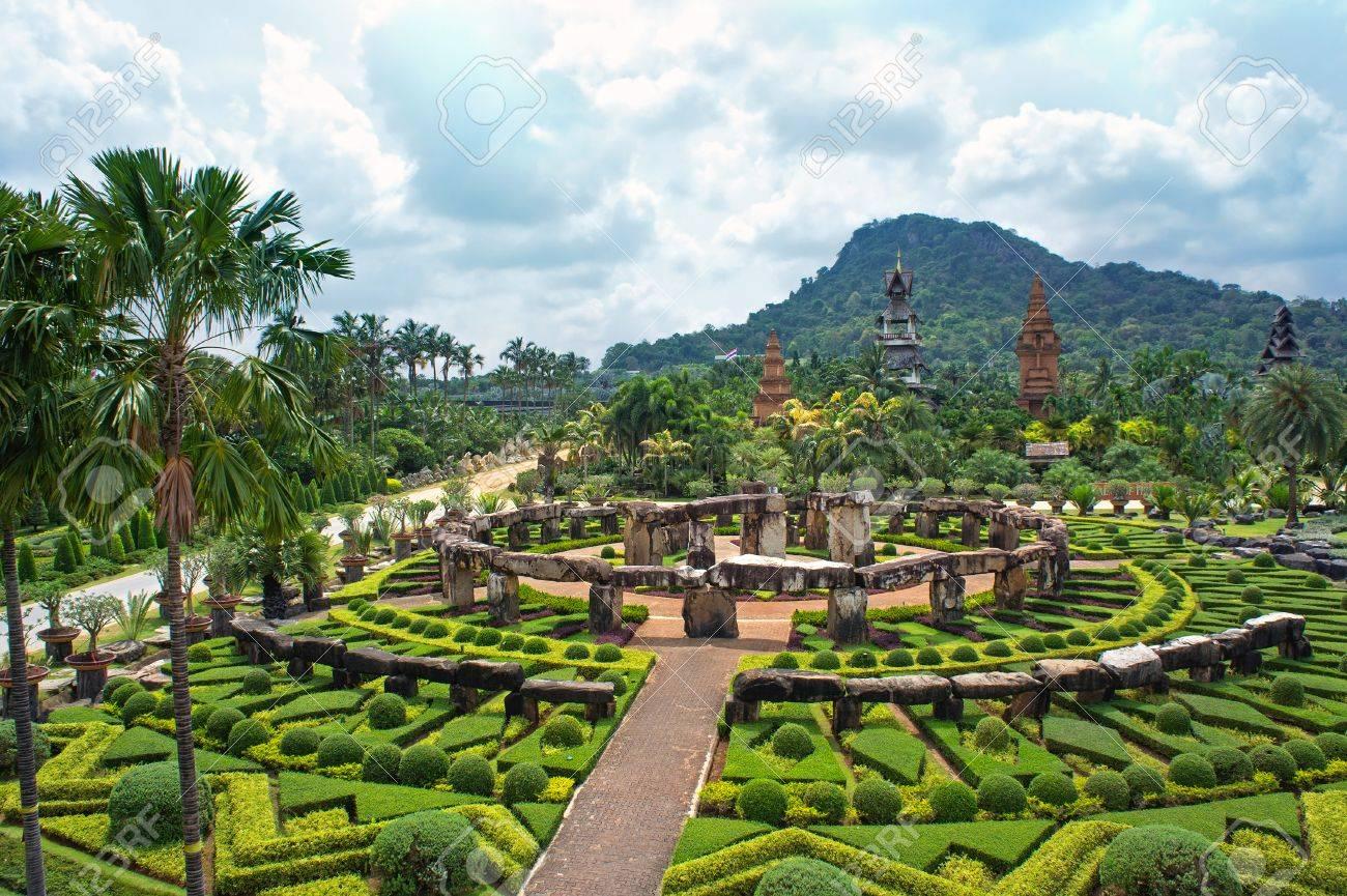 Nong Nooch Tropical Botanical Garden, Pattaya, Thailand Stock Photo - 28318549