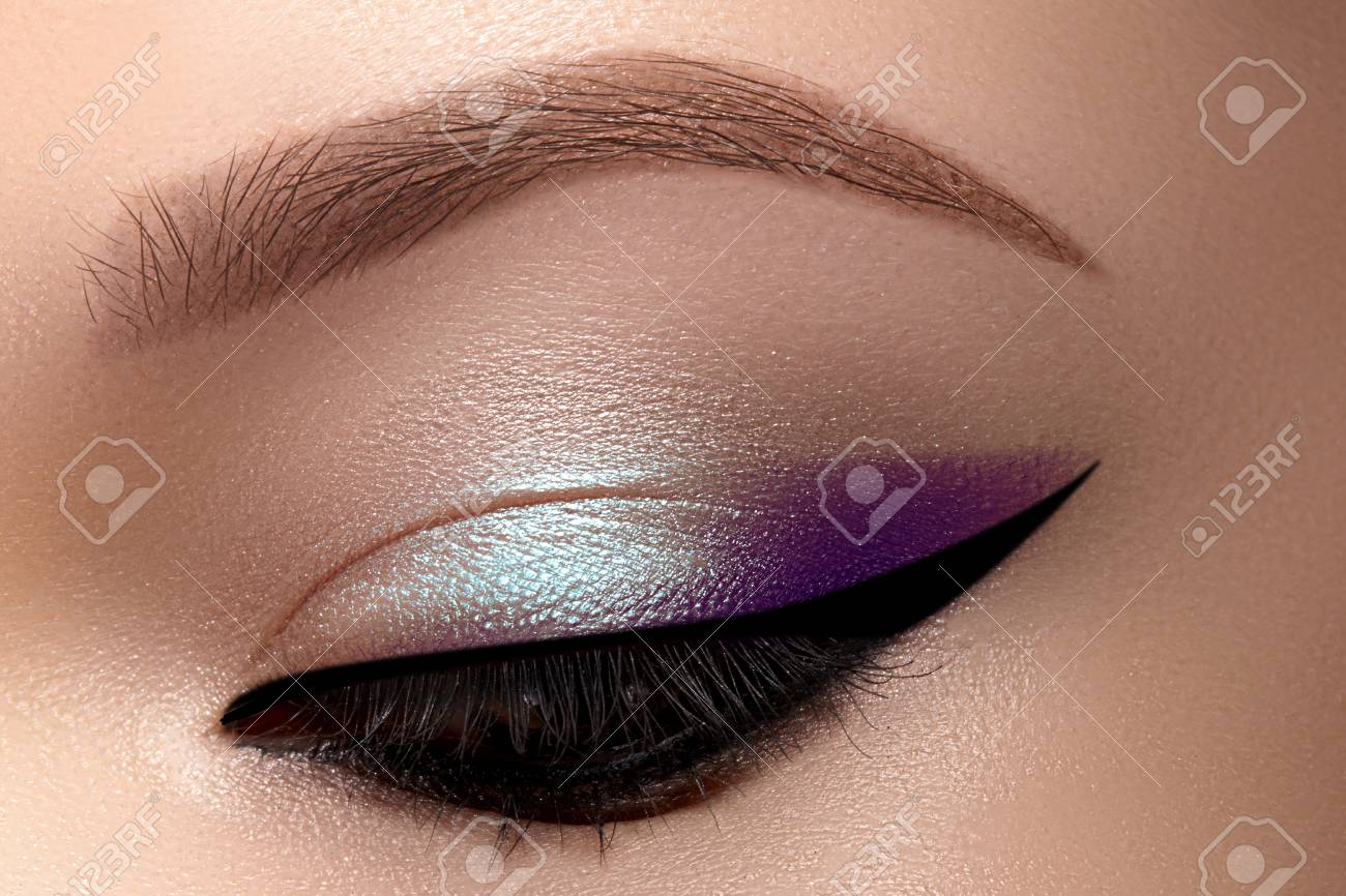 Celebrate Beautiful Macro Eyes With Smoky Cat Eye Makeup Cosmetics