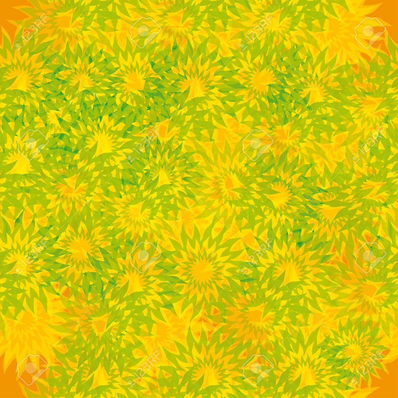 abstract seamless pattern with flowers. Stock Vector - 13323647