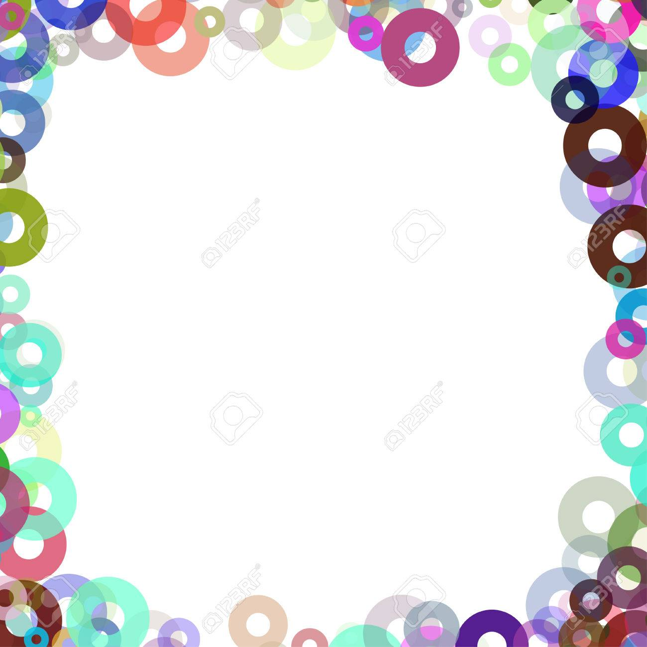simple frame with colors bagels royalty free cliparts vectors and rh 123rf com Sun Clip Art Coffee Clip Art